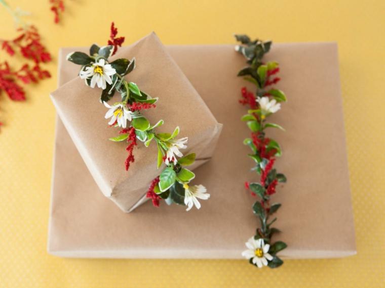 bonitas guirnaldas flores naturales