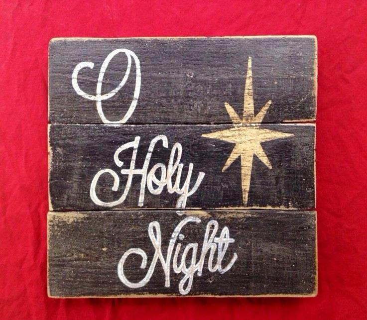 bonito cartel tablas madera estrella