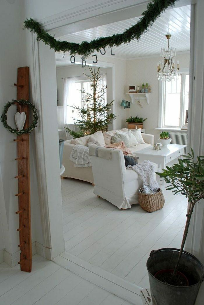 bonito salon decoracion navidad
