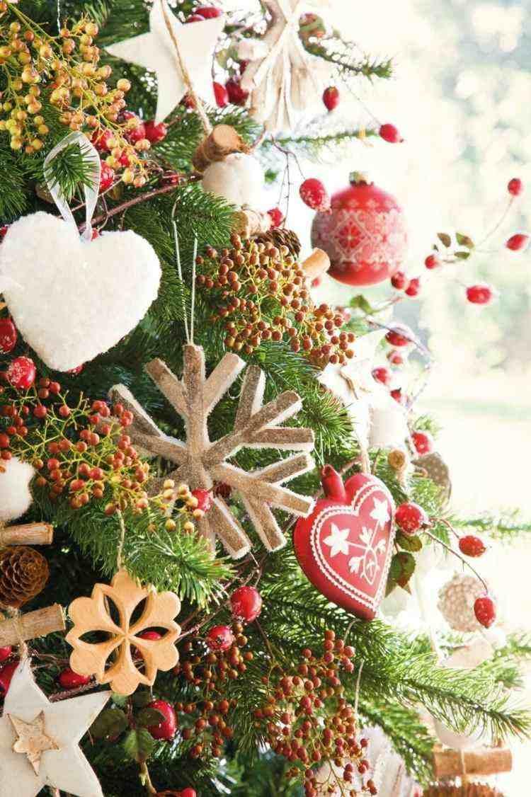 bonitos adornos navideños caseros colgantes