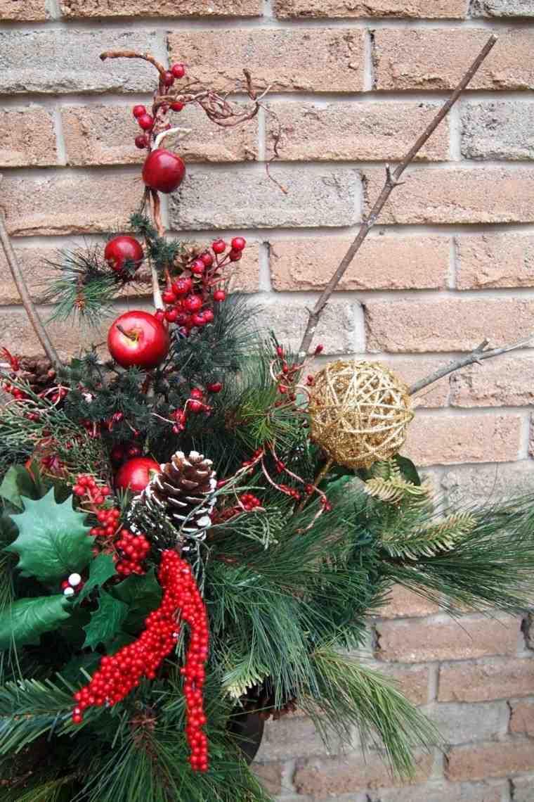 bricolage decoraciones navideñas ramo navideno original ideas