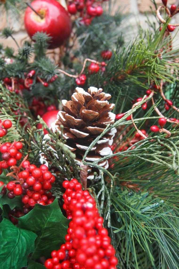 bricolage decoraciones navideñas ramo navideno ideas