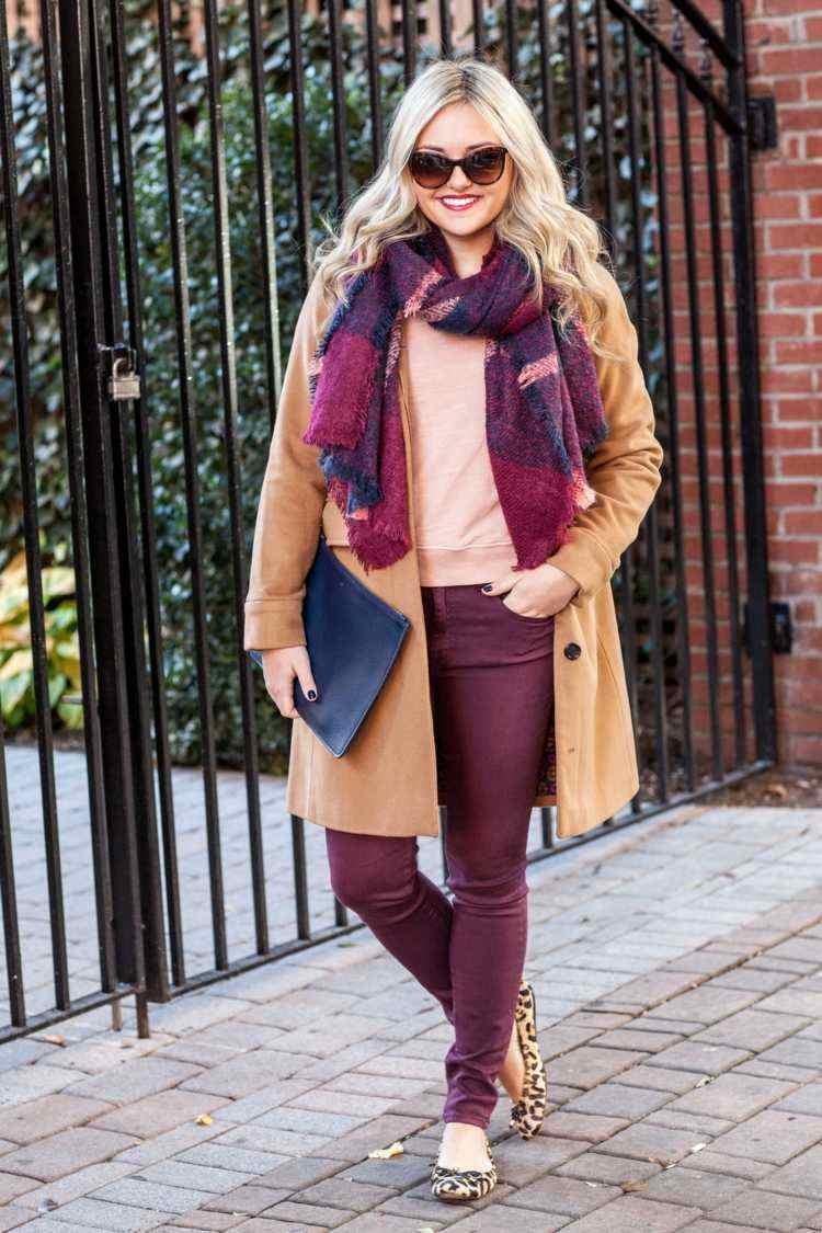 bufandas otono caliente moderno lana idea