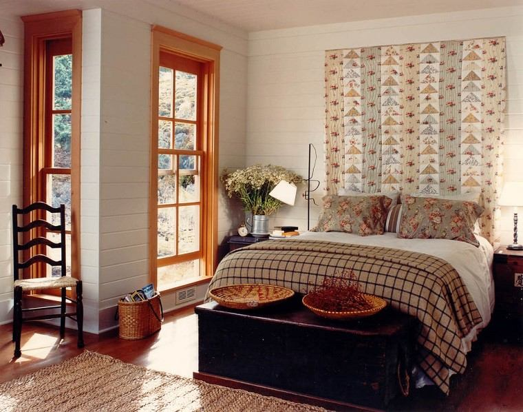 cabeceros de cama diseño decoracion original ventanas