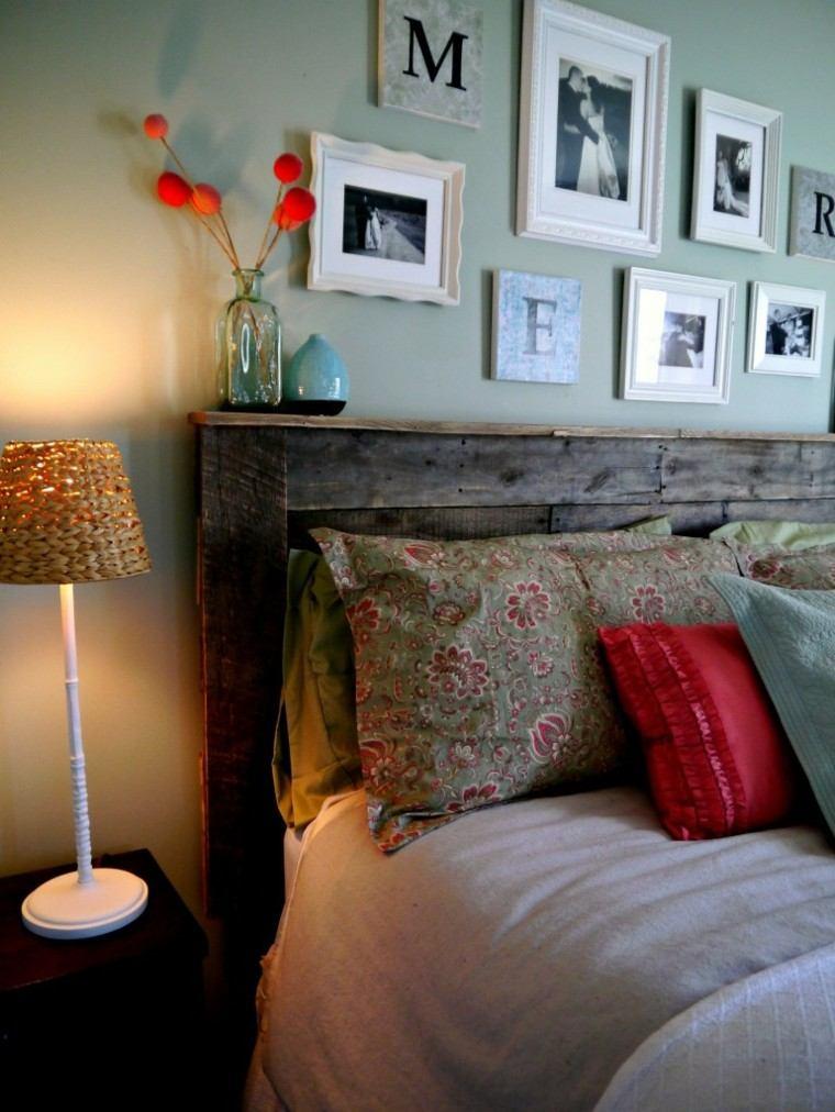 cabeceros de cama diseño variado acogedor flores