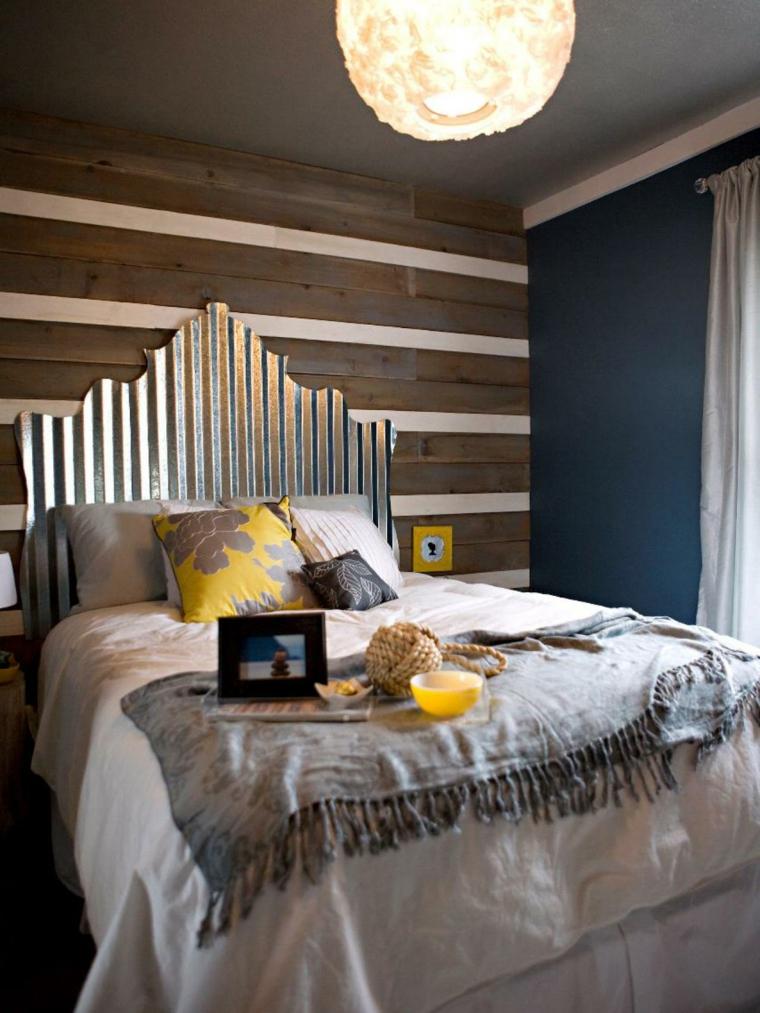 cabeceros de cama diseño variado tejidos calido