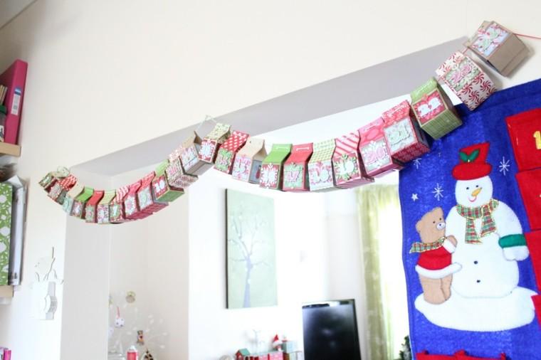 cajas carton decoracion blanco cortinas