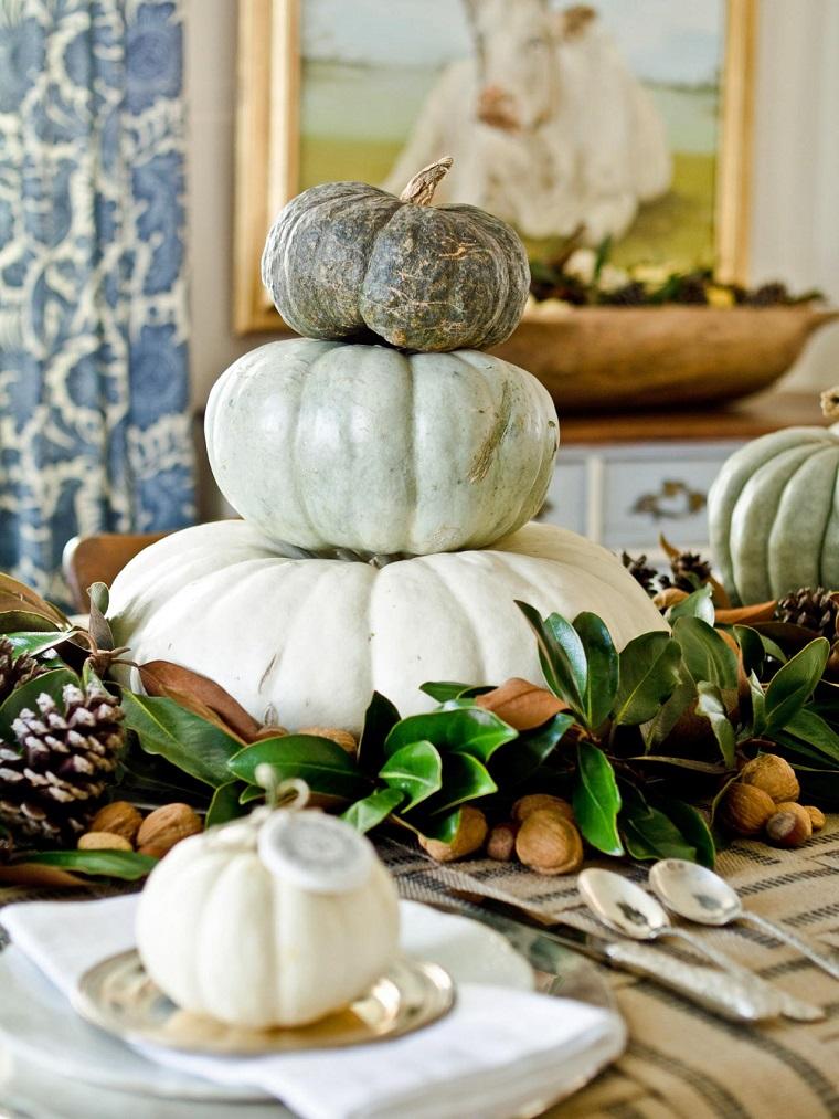 calabaza recetas decora casa otono centro mesa distintos tamanos ideas