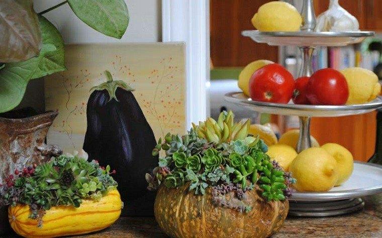 calabaza recetas para decorar la casa en otoo