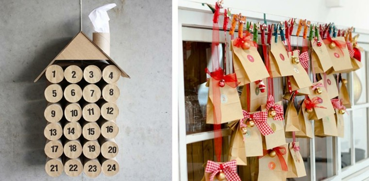 Calendario de adviento ideas para sorprender a los ni os - Como sorprender en navidad ...