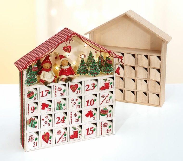 calendario de adviento niños infantil casa