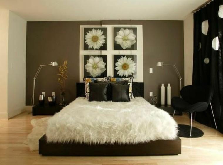 cama acogedora silla moderna cubierta