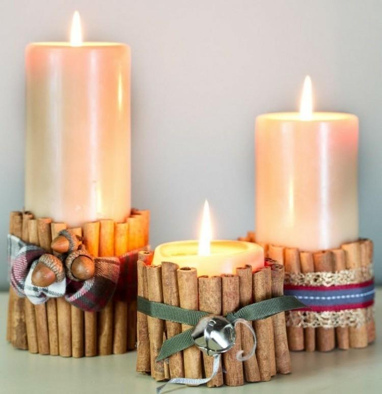 canela velas estilo decorado olor