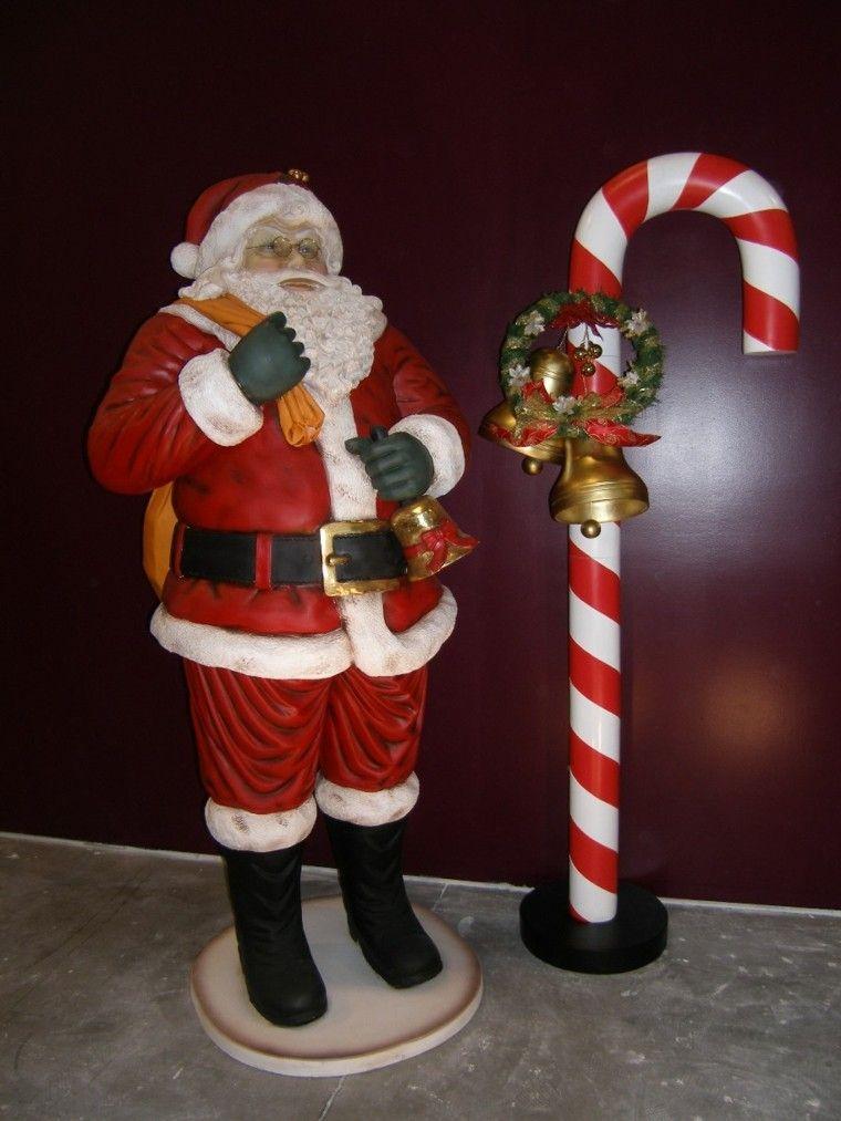 caramelos decoracion navidad santa grande