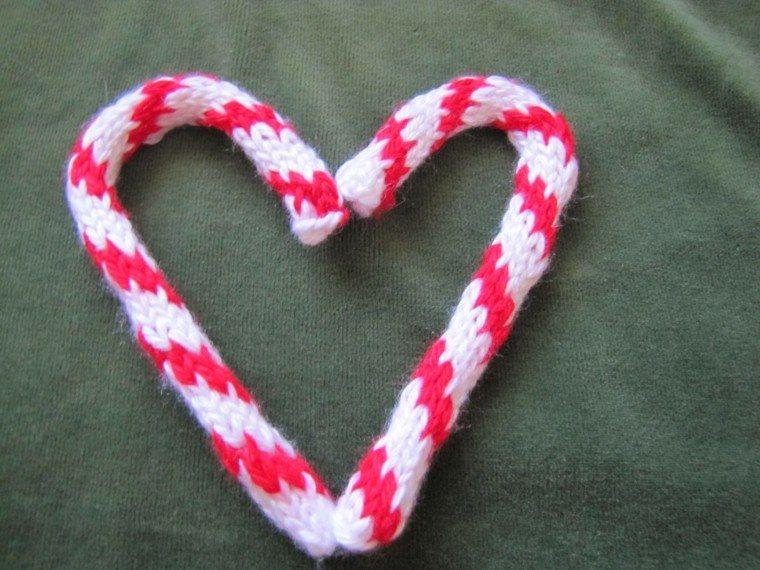 caramelos decoracion navidad tejido diy