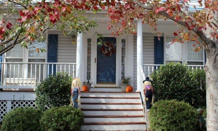 casa grande decoracion otoño
