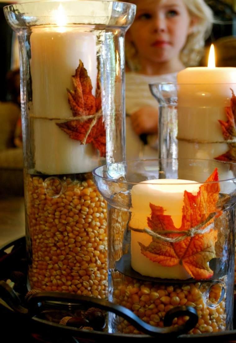 casa ideas velas candelabros diy