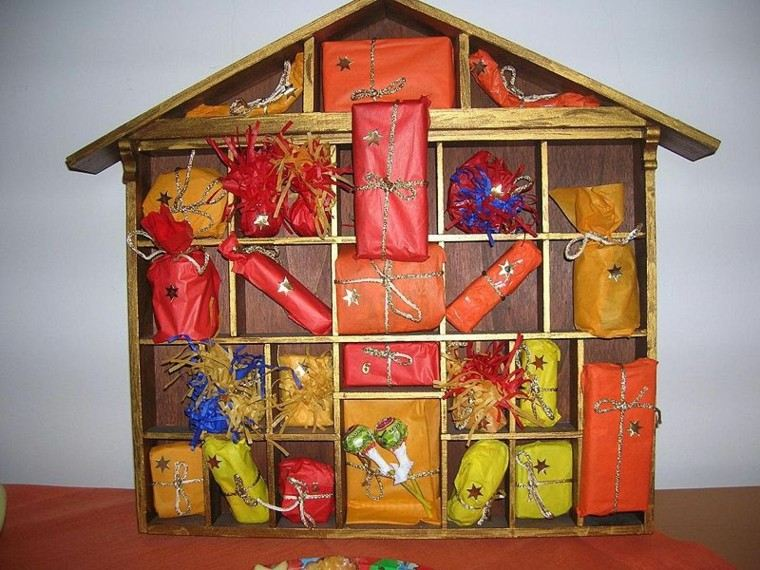 casa muñecas regalos colores madera