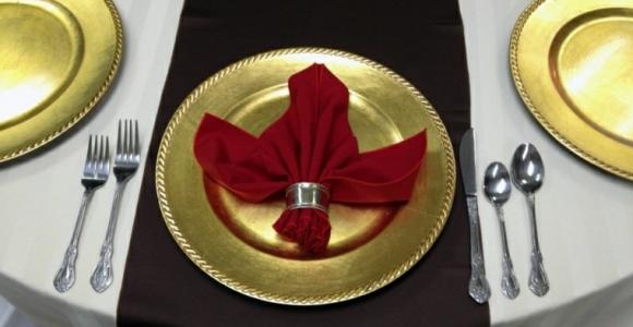 Cena de navidad, diseños creativos con servilletas.