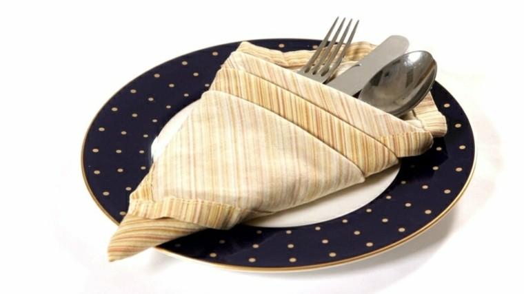 cena de navidad servilletas variantes platpos