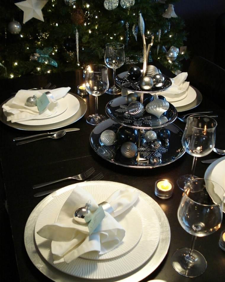 cena de navidad recetas decora mesa plata ideas
