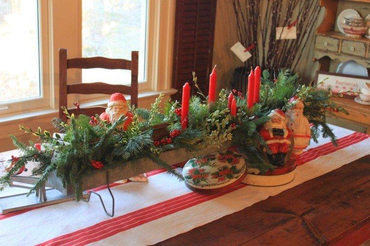 cena navidad recetas decora mesa centro velas ideas