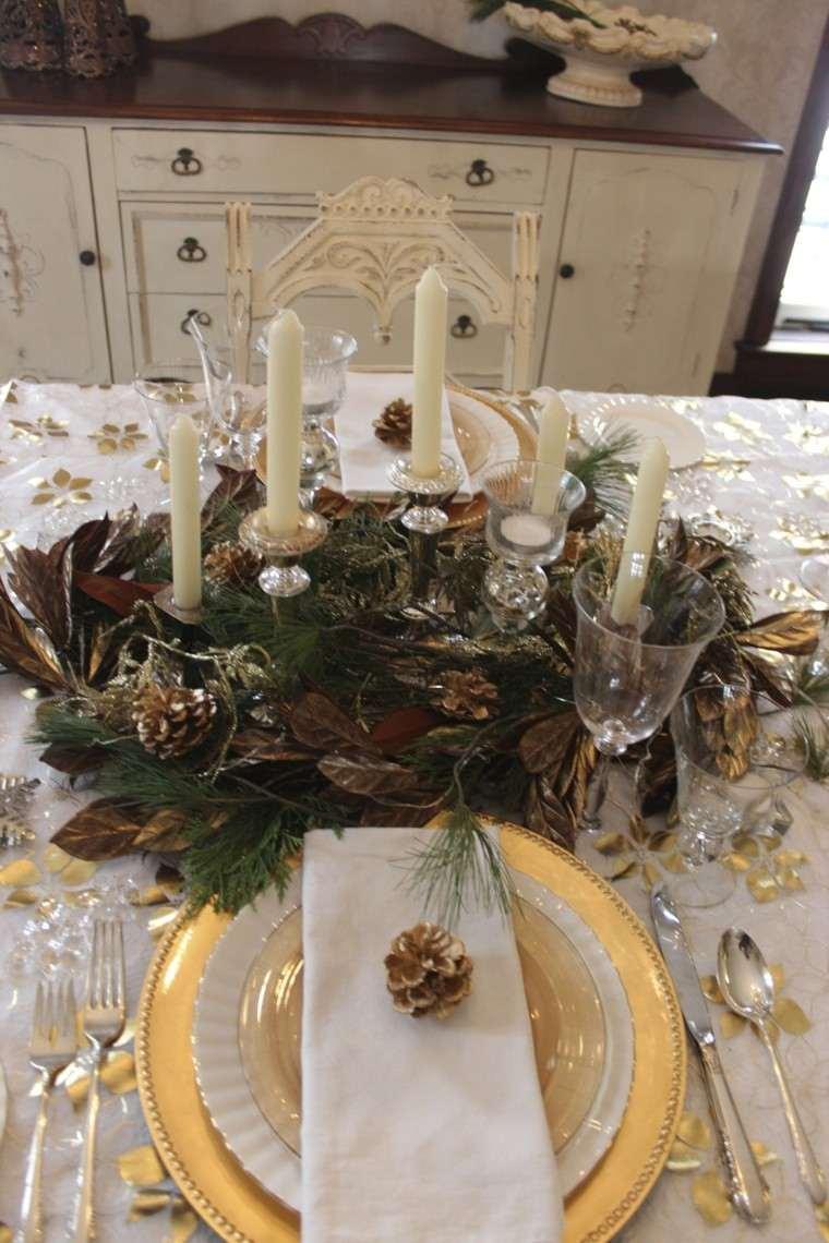 cena navidad recetas decora mesa pinas ideas