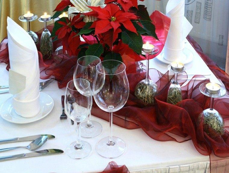 cenas navidad recetas decorar mesa estrella navidad ideas