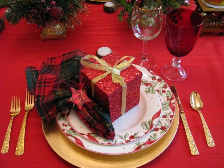 cenas navidad recetas decorar mesa rojo brillante ideas with ideas cena navidad