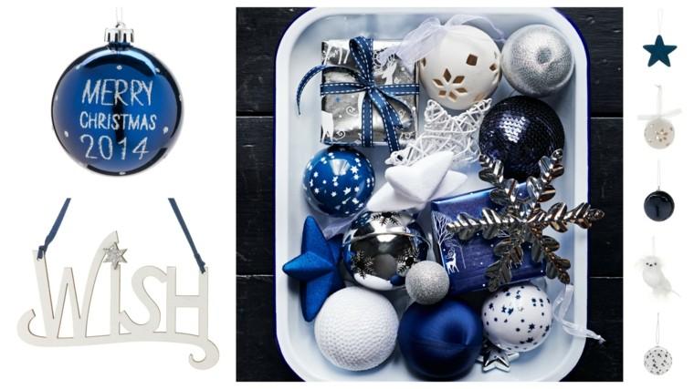 centro mesa azul ideas decoracion estrellas
