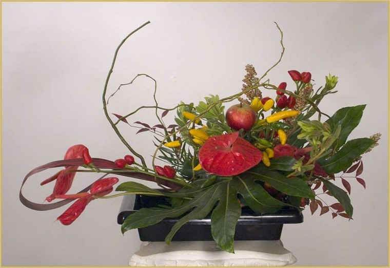 centros de flores exoticas