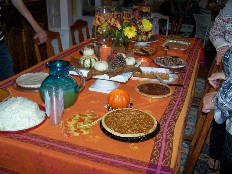 centros de mesa otoño decoracion calabazas fiesta