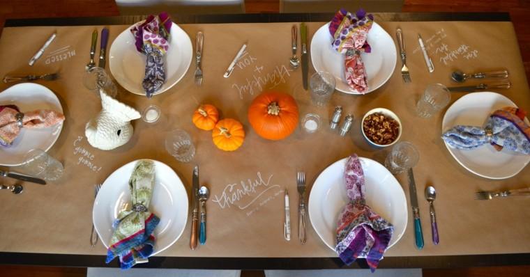 centros mesa originales ideas calabazas pequenas otoño