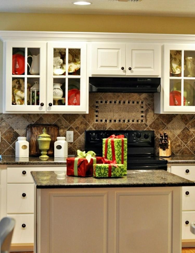 cocinas navidad elegante amarillo calido regalos