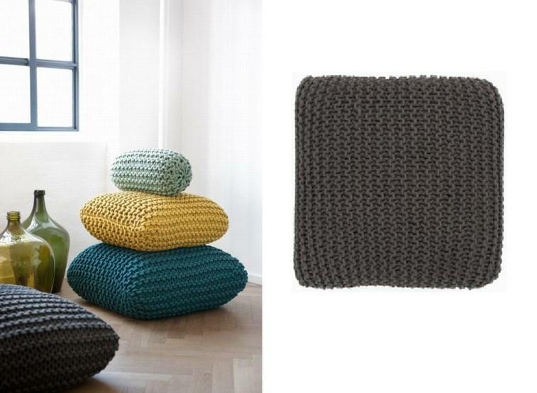 gorros de lana cojines de crochet colores