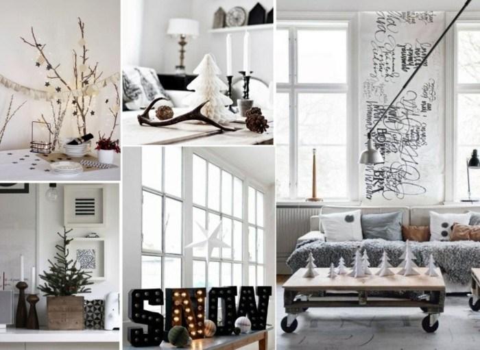 collage decoracion estilo nordico