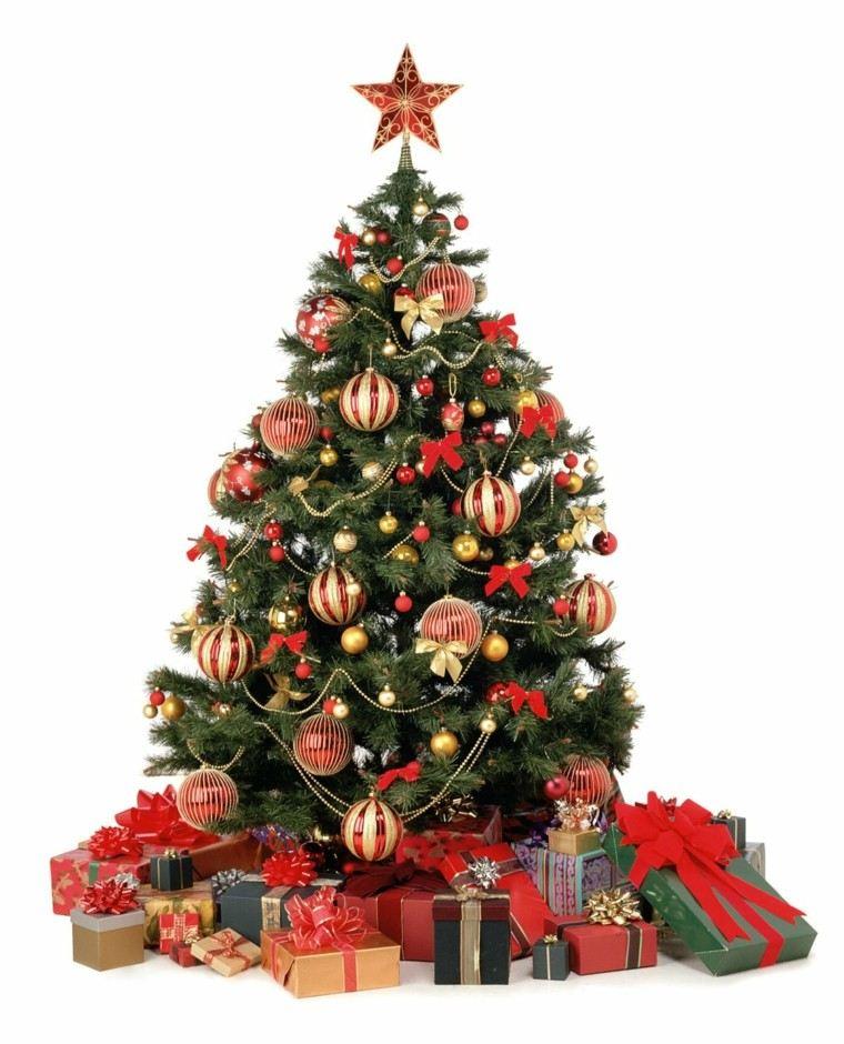 color rojo oro adornos navidad accesorios regalos ideas