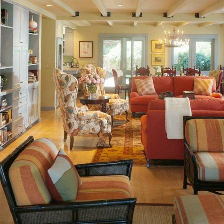 colores otoño estilo decorado muebles
