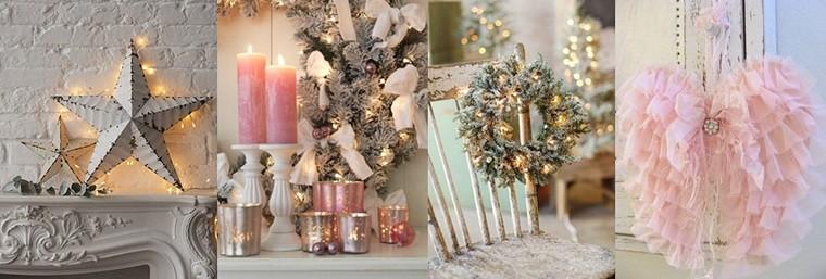 colores pastel navidad decorar casa adornos originales ideas