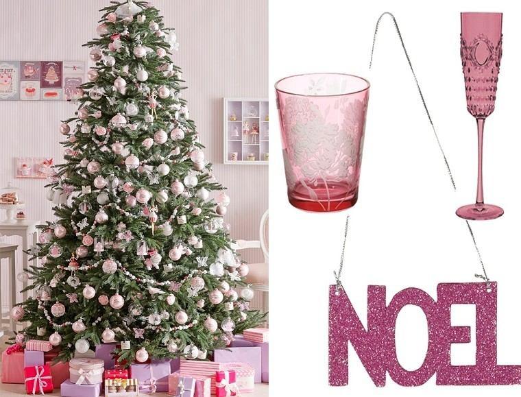color pastel navidad varias arbol grande guirnalda ideas