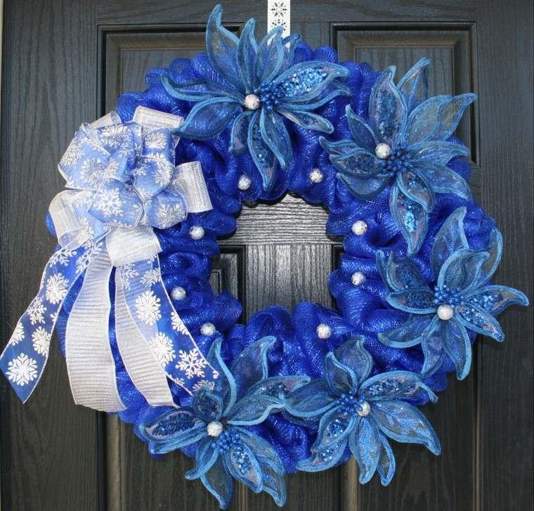 colorida puerta elegante diseño exterior