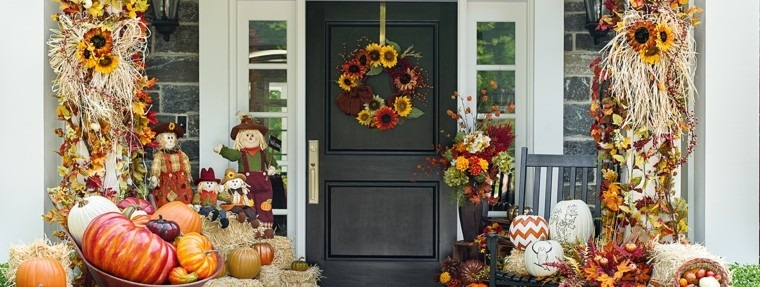 colorido detalles decoracion otoño flores