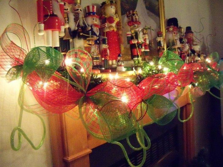 combinacion de colores guirnalda navidad