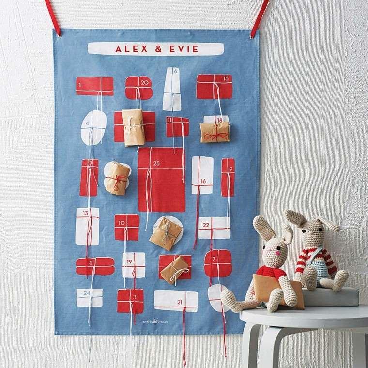 como hacer calendarios adviento caseros
