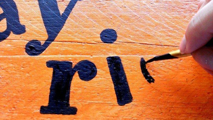 como hacer señales madera