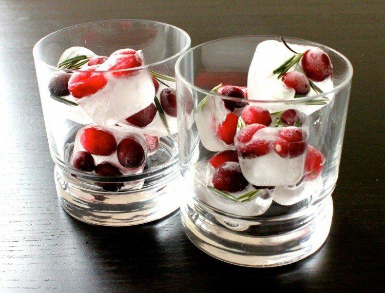 hielo decoracion mesa minimalista