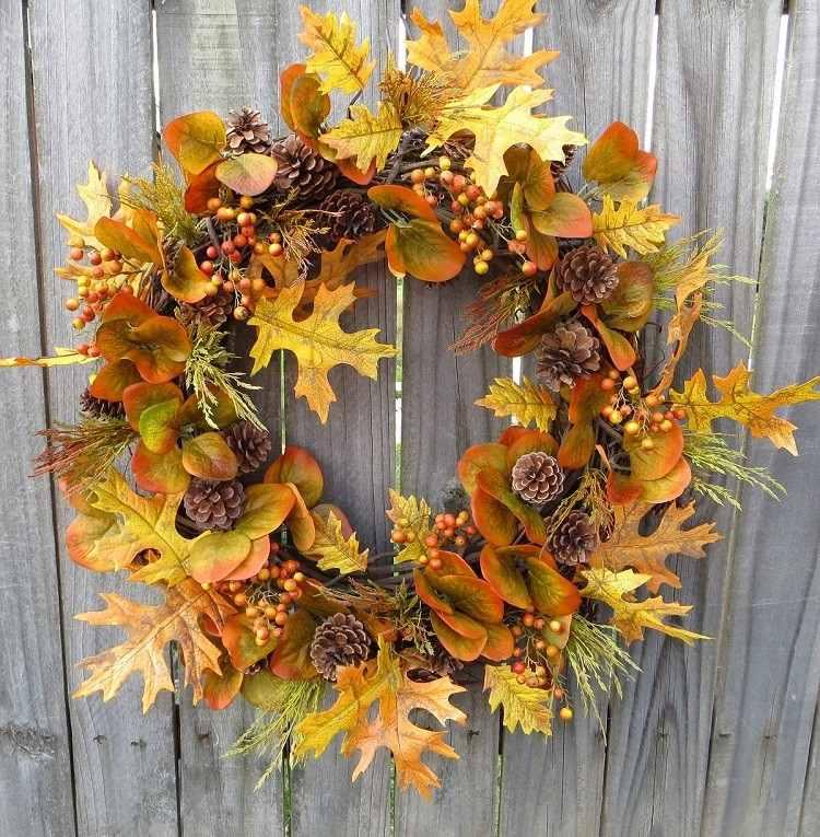 corona decoracion diseño patio hojas