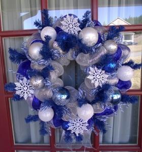 Colores pastel 23 ideas para la decoraci n navide a - Decoraciones en color plata ...