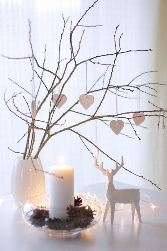 deco velas renos navidad