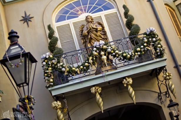 decoracin navidad bolas doradas